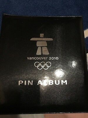 2010 Vancouver 62 Pins Album lot Olympic Olympics Pin Collection