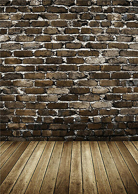Photo Backdrops Vinyl Brick Wall Photography Background Studio for Baby 5x7ft