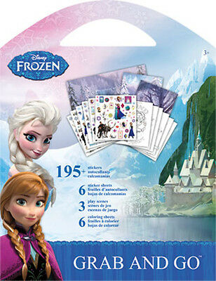 Disney Frozen - Grab and Go Stickers