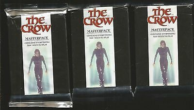 The Crow Masterpack Trading Cards Game,sealed,1994