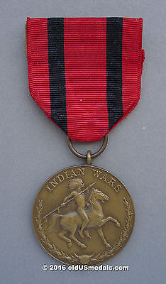 US Army Indian Wars medal