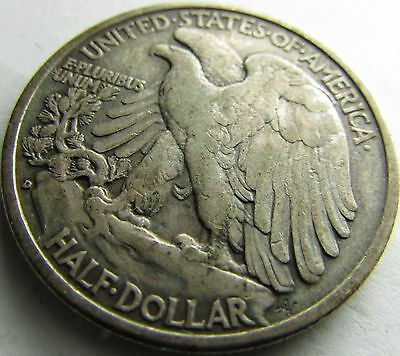 1939-D XF Walking Liberty Half in a SAFLIP® - Free Shipping