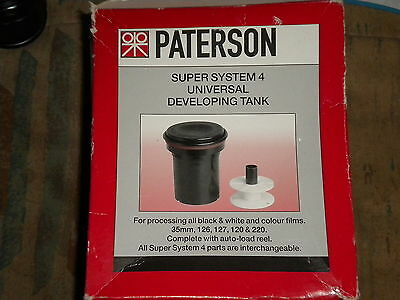 Patterson  35Mm Developing Tank With  2 Reels