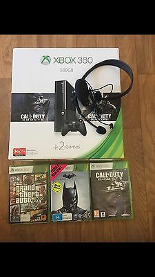Xbox360, 2 Games, Controller And Headset
