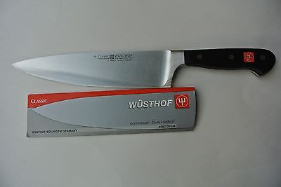 New Wusthof Classic 8 inch, Chef's/Cook's Knife, NSF, PEtec model 4582/20 cm.