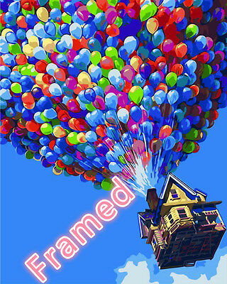 Painting by Number Kit (Framed) 40*50CM Balloon UP S2 KID DIY F007 OZ STOCK