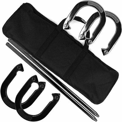 Horseshoes Trademark Games Professional Horseshoe Set - Heavy Duty with Carrying
