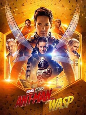 Ant-Man And The Wasp 4K Ultra Hd Disc Only   Region Free   Never Played!