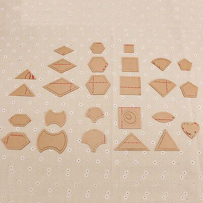 54PCS mixed quilt templates acrylic diy tools for patchwork quilter