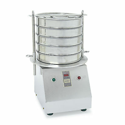 5 Layer Powder Sifting Machine Lab Sieve Shaker Vibrating Shaker Filter