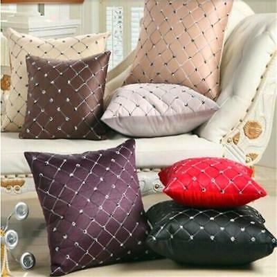New Vintage Fashion Cotton Linen Cushion Cover Throw Pillow Case Home Decor WW