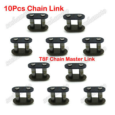 10x T8F Chain Spare Master Links For 43cc 47cc 49cc 2 Stroke Mini Moto Quad ATV