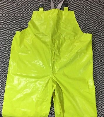 Tingley Comfort Brite Flame Resistant Raingear Overall Size Large 053122.01