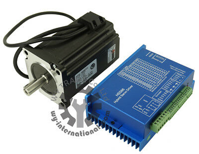 Nema34 8Nm Closed loop motor 6A L-118mm + HSS86 2 phase Hybrid Step-servo Driver
