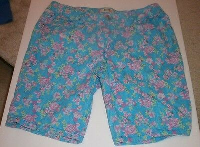 Girl's size 16 floral shorts