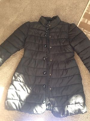 Girls Age 9-10 Puffy Coat From Next
