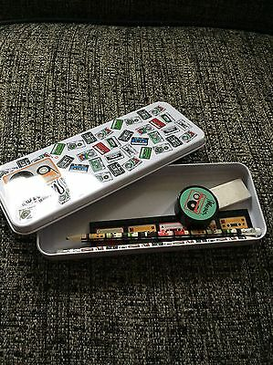 Pencil Tin And Accessories