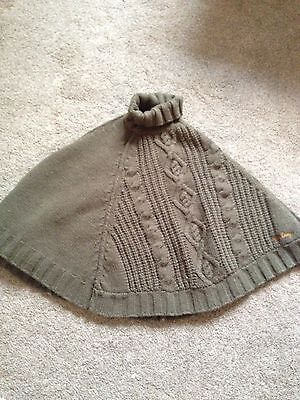 Girls Replay Poncho Size Small Age 8-11 Years