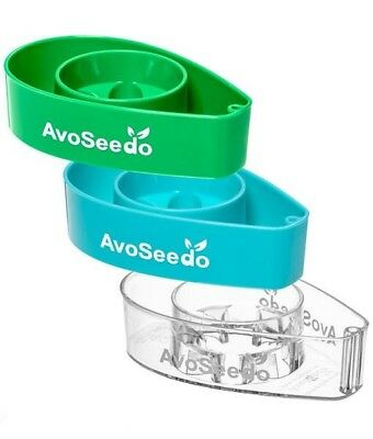 AvoSeedo x3 Pack Grow your own Avocado Tree, EverGreen,FREE EXPRESS ,