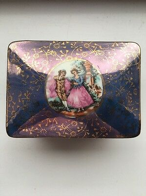 Antique Jewellery/Trinket Box