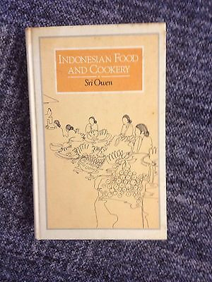 Indonesian Food and Cookery book by Sri Owen (Hardback, 1986)