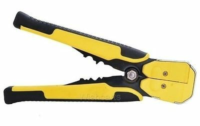 UK Automatic Wire Stripper Crimping Pliers Multifunctional Terminal Tool Yellow
