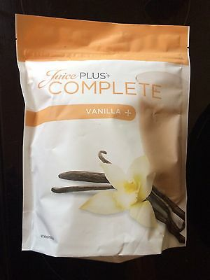 Juice Plus+ Shake Complete Vanilla New And Sealed 525g + Free Scoop +  Free Post
