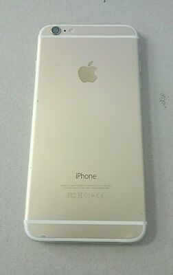 Apple  iPhone 6 plus - 128GB - Gold Smartphone - Cracked screen/No Charger