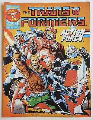 TRANSFORMERS COMIC #153 - 20th February 1988 - Marvel UK, Action Force