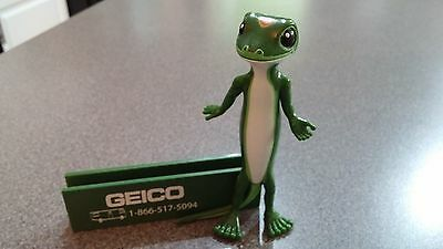 Business Card Holder Geico Gecko New  Green