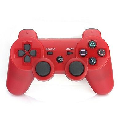 New Wireless Bluetooth PS3 Joystick Shock Vibration Remote Console Controller