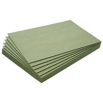 Green wood fibre underlay boards x 9 covers approx 4m2