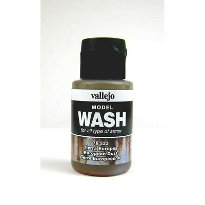 (12,54€/100ml) Vallejo Model Wash European Dust 76523 35ml