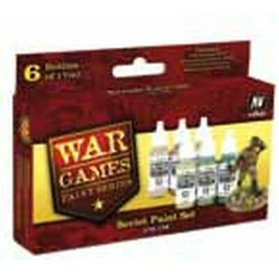 "(14,87€/100ml) Vallejo Model Color Wargames "" Soviet Paint Set"" Airbrush Farben"
