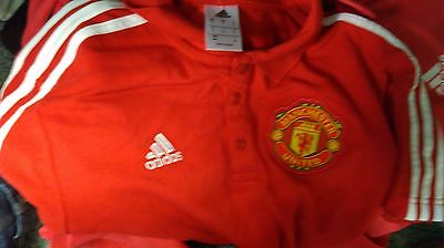 Adidas Manchester United Polo Small (NEW)