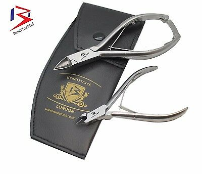 Chiropody Set of 2 Toenail Cutters Clippers Nipper FOOT-CARE Ingrown Thick Nails