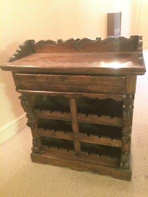 Reproduction Antique Wine Rack Sideboard