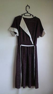 Vintage 80's Womens Dress