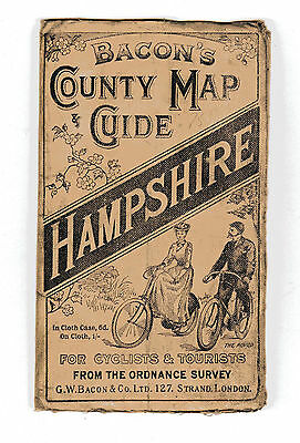 Bacons County Map Hampshire