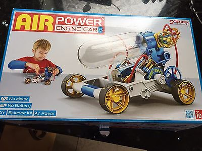 New Air Power Engine Car - Science Discovery Kit Educational Toy For Kids