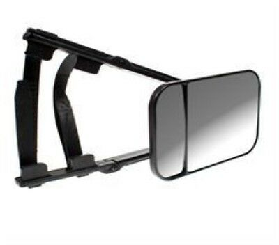 2 x TOWING MIRRORS LARGE DUAL, MAYPOLE (MP8324) EACH HAS CONVEX AND FLAT GLASS