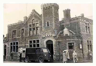 PHOTO TAKEN FROM A 1950's IMAGE OF CANTON POLICE STATION IN CARDIFF
