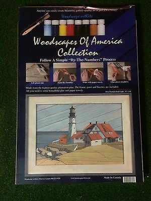 """Woodscapes of America - Portland Head Light # 1122 - 15"""" x 20"""" New Unopened"""