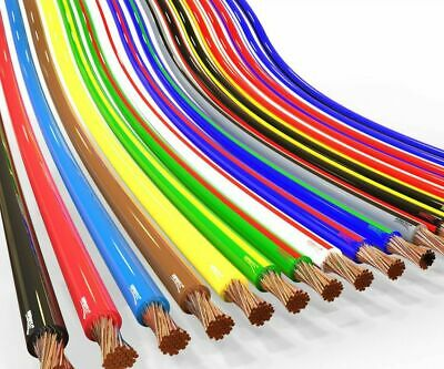 AUPROTEC automotive 0.35 - 2.5 mm² thinwall electrical auto cable wire 31 colors