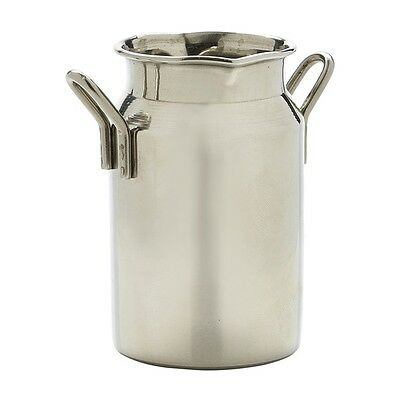 Mini Stainless Steel Milk Churn 5oz Presentation Side Dip Sauce Dish Milk Jug