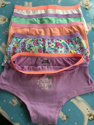 5 Pairs Girls Pants Knickers New Age 8
