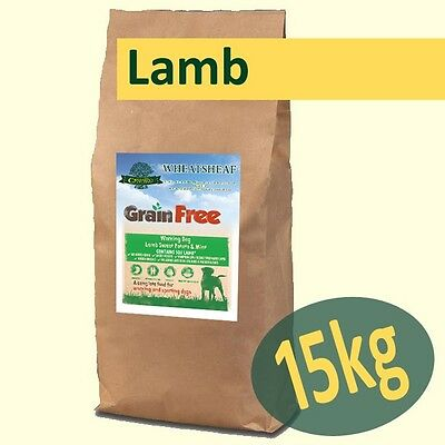 15kg *Grain Free* LAMB, SWEET POTATO & MINT Working Dog Food