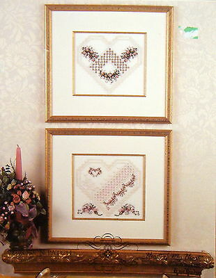 Cross n Patch - Heart of my Heart Hardanger embroidery leaflet - used