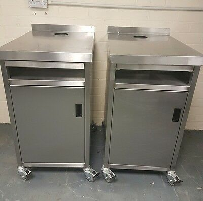 Used Stainless Steel Cupboard/Table £150
