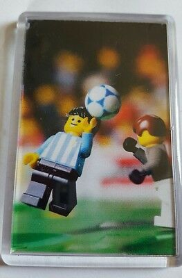 Tartan Army. Maradona the hand of god  immortalised on novelty fridge magnet.